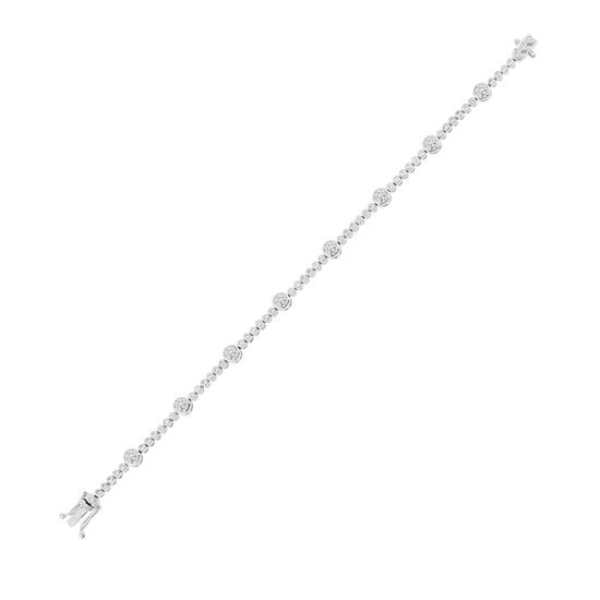 Bracelet With Diamond in 18K White Gold